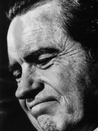 US President Richard Nixon, 1972 Photo