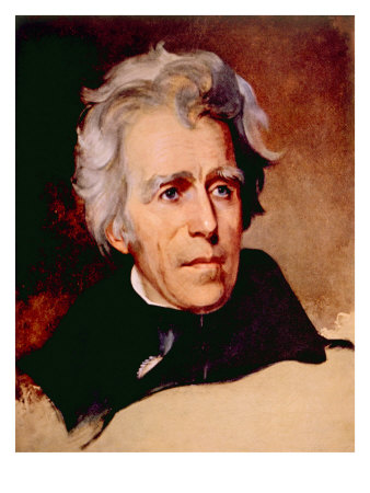Andrew Jackson, Portrait by Thomas Sully, 1829 Photo