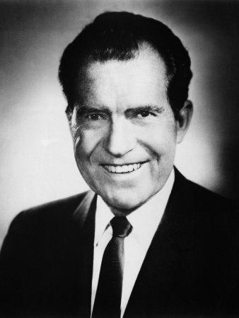 1968 Presidential Campaign. Republican Candidate Richard Nixon, 1968 Photo