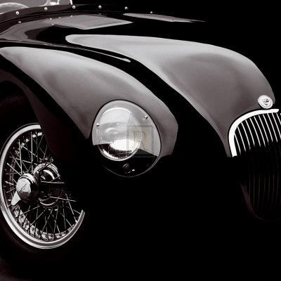 Jaguar C-Type Prints by  Retro Classics