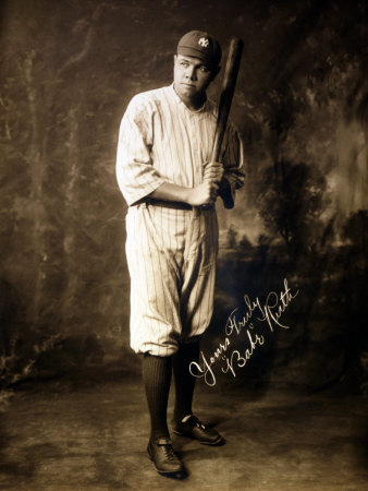 Babe Ruth, 1920 Photo!