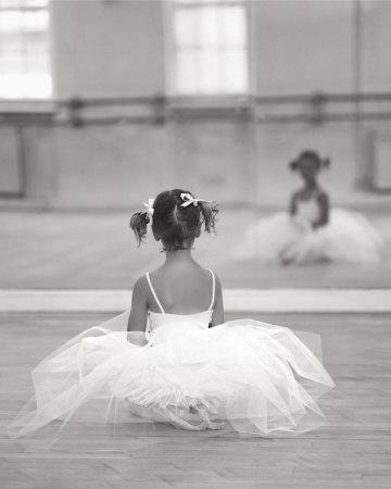 Little Ballerina Stampa artistica
