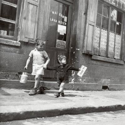 Rue Marcellin Berthelot, Choisy-Le-Roi, ca. 1945 Plakater af Robert Doisneau