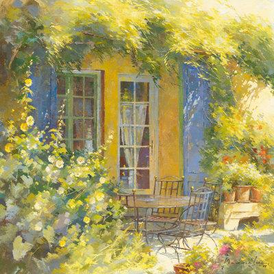 Bouquet de Fleurs Prints by Johan Messely