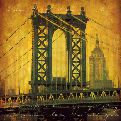 New York Romance Art Print