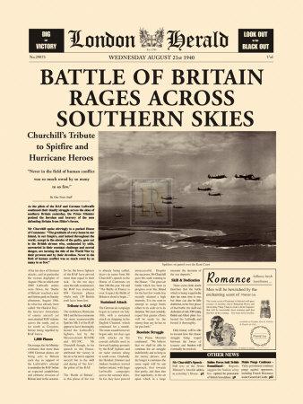 Battle of Britain Rages Prints