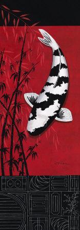 Premium Shiro Utsuri Plakater af Nicole Gruhn