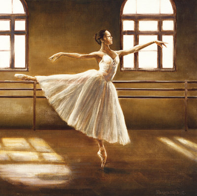 Ballet Dancer Prints by Cristina Mavaracchio
