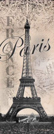 Eiffel Tower Posters by Todd Williams
