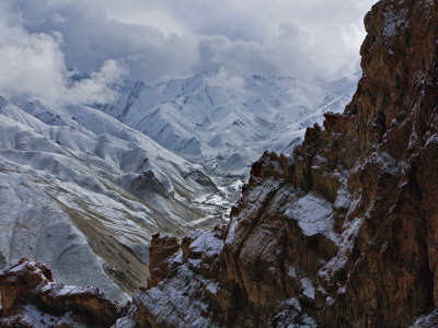 Hemis National Park is famous for its population of snow leopards Fotografie-Druck