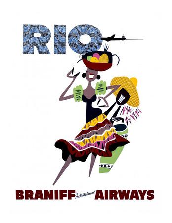 Braniff International Airways, Rio Prints