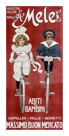 Mele & Ci, Abiti per Bambini Posters by Aleardo Villa