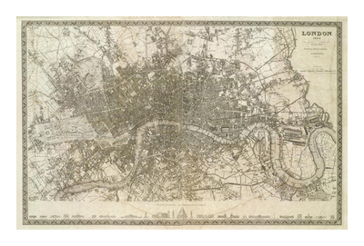 London, England, c.1845 Art Print