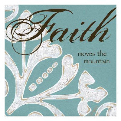 Faith Prints by Melody Hogan