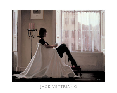 In Thoughts of You Prints by Jack Vettriano