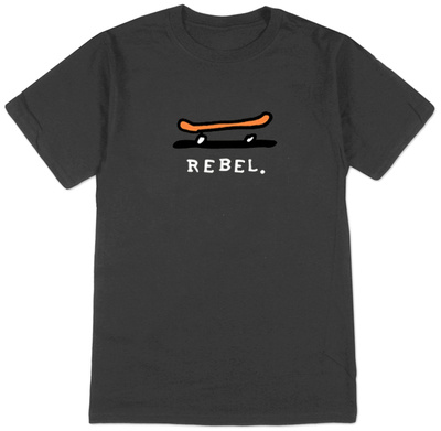 Rebel -Skateboard T-shirts