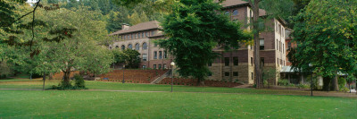 Campus of a University, Western Washington University, Bellingham, Whatcom County Photographic Print by  Panoramic Images