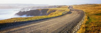 Dirt Road Passing Through a Landscape, Cape Bonavista, Newfoundland, Newfoundland and Labrador Photographic Print by  Panoramic Images
