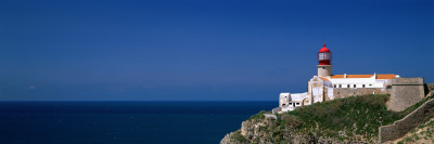 Lighthouse on Cape San Vicente Portugal Photographic Print by  Panoramic Images
