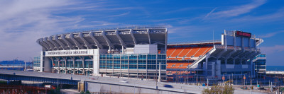 Cleveland Browns Stadium Cleveland, OH Photographic Print by  Panoramic Images