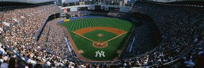 High Angle View of a Baseball Stadium, Yankee Stadium, New York City, New York State, USA Photographic Print by  Panoramic Images