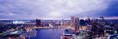 Maryland, Baltimore, Cityscape Photographic Print by  Panoramic Images