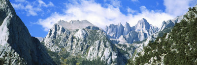Mount Whitney Owens Valley Ca, USA Photographic Print by  Panoramic Images