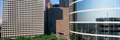Skyscraper Windows in Houston,, TX Photographic Print by  Panoramic Images