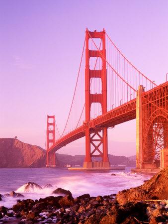 California, San Francisco, Golden Gate Bridge Photographic Print