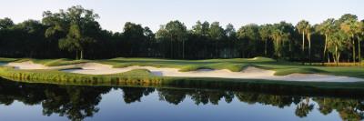 Lake in a Golf Course, Kiawah Island Golf Resort, Kiawah Island, Charleston County Photographic Print by  Panoramic Images