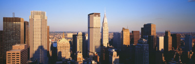 Afternoon Midtown Manhattan New York, NY Photographic Print by  Panoramic Images