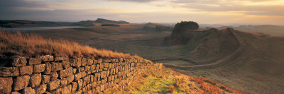Hadrians Wall, Northumberland,, UK Photographic Print by  Panoramic Images