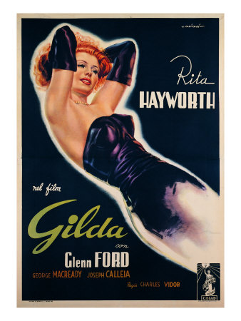 "Film Poster for ""Gilda"" Giclee Print"