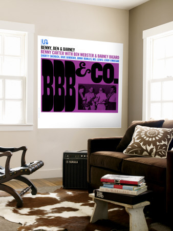 BBB and Co. Wall Mural