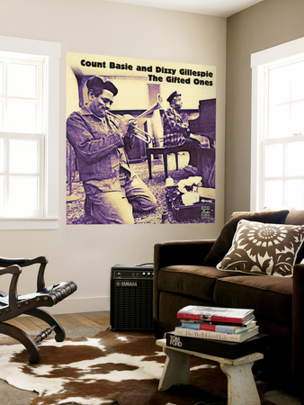 Count Basie and Dizzy Gillespie - The Gifted Ones Wall Mural