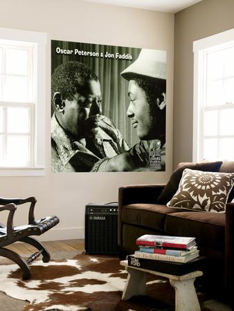 Oscar Peterson and Jon Faddis - Oscar Peterson and Jon Faddis Wall Mural