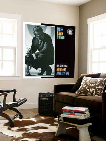 Miles Davis, Collector's Items Wall Mural