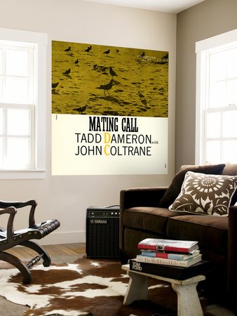 Tadd Dameron with John Coltrane - Mating Call Wall Mural