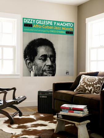 Dizzy Gillespie and Machito - Afro-Cuban Jazz Moods Wall Mural