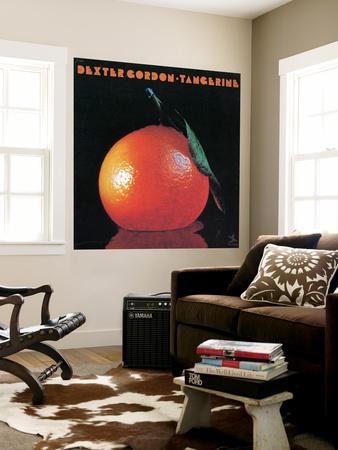 Dexter Gordon - Tangerine Wall Mural