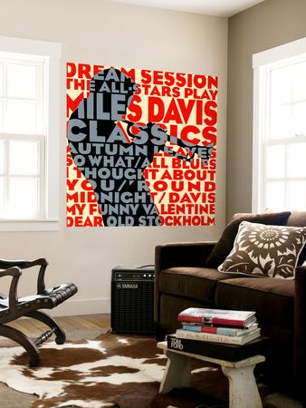 Dream Session : The All-Stars Play Miles Davis Classics Wall Mural