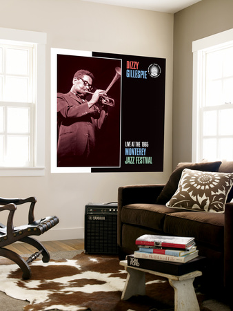 Dizzy Gillespie, Live at the 1965 Monterey Jazz Fest Wall Mural