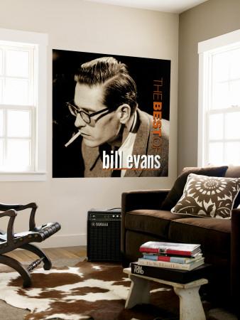 Bill Evans - The Best of Bill Evans Wall Mural