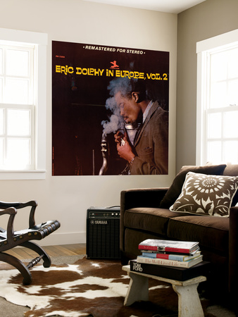 Eric Dolphy - Eric Dolphy in Europe, Vol. 2 Wall Mural