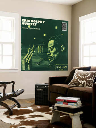 Eric Dolphy Quintet, Outward Bound Wall Mural