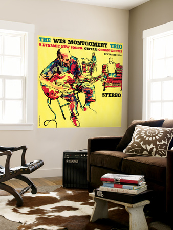 Wes Montgomery Trio - A Dynamic New Sound Wall Mural