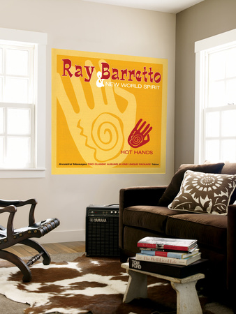 Ray Barretto - Hot Hands Wall Mural
