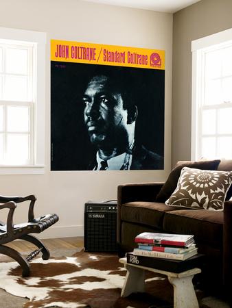John Coltrane - Standard Coltrane Wall Mural