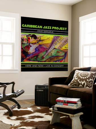 Caribbean Jazz Project - Here and Now, Live in Concert Mural