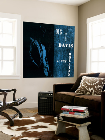 Miles Davis featuring Sonny Rollins - Dig Wall Mural